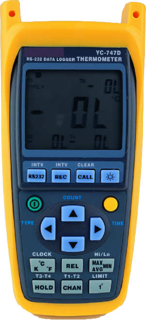 Electronic Water Meter Data Log : Data logger digital thermometer onecrest